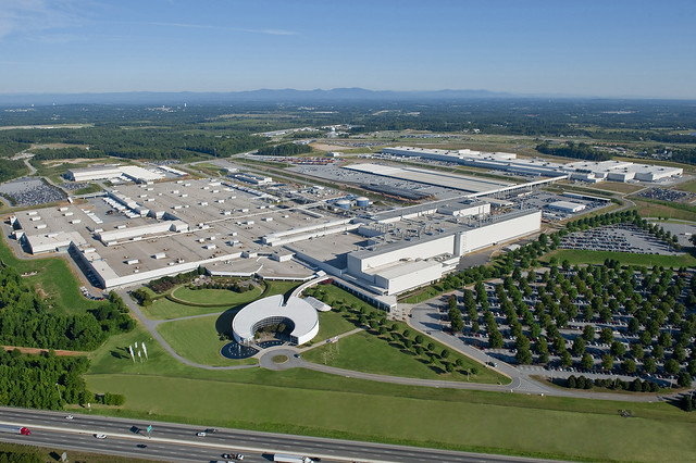 BMW Manufacturing - Aerial View