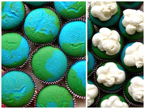 Mrs. Fields Secrets Earth Cupcakes and Cloud Frosting