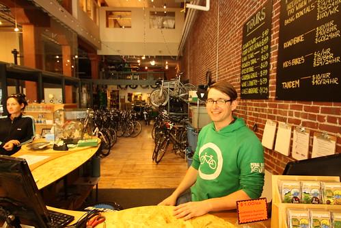 Scott @ Pedal Bike Tours & Rentals