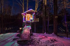 The Tiny Fern Forest Treehouse - Lincoln, VT - 2013, Feb - 04.jpg by sebastien.barre