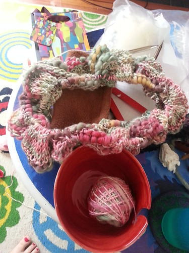 mobius knitting by Miss Knotty