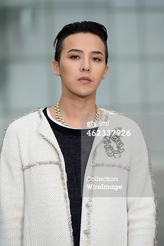 G-Dragon Chanel Show Paris - Press Photos - Getty Wire - 20150127 - 6