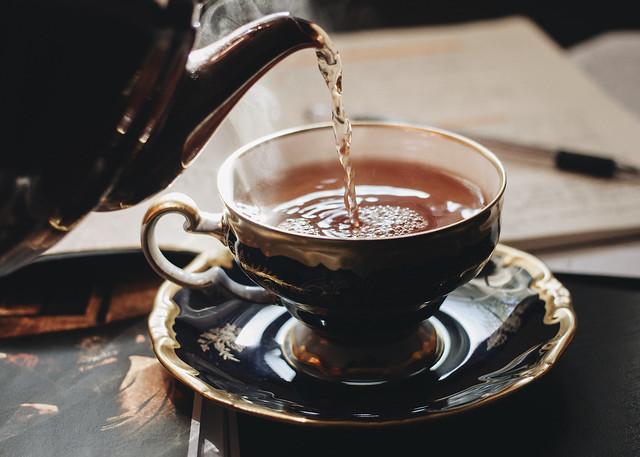 tea & studies.