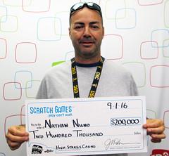 Nathan Nuno - $200,000 High Stakes Casino