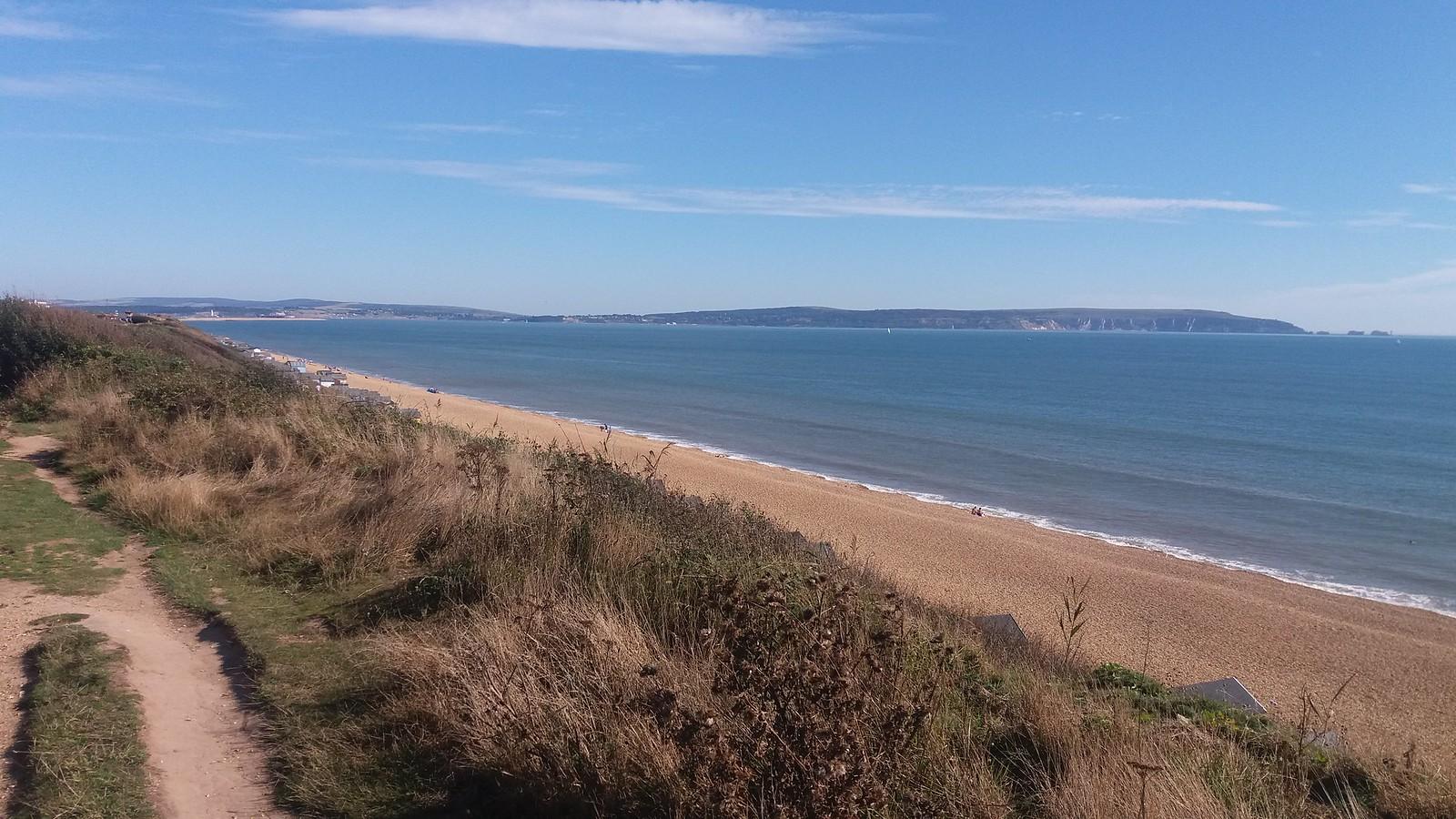 20160907_160041 Hordle Cliff - cliff top path