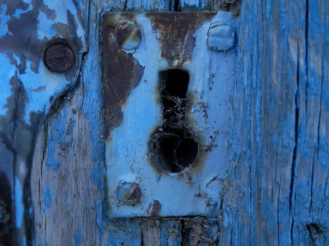 Nadie mete la llave desde hace tiempo.
