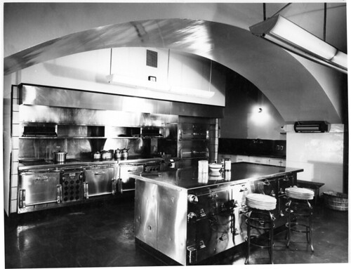 Kitchen Area of the White House