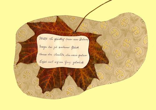 Gretes Poesiealbum Sütterlinschrift Erinnerung