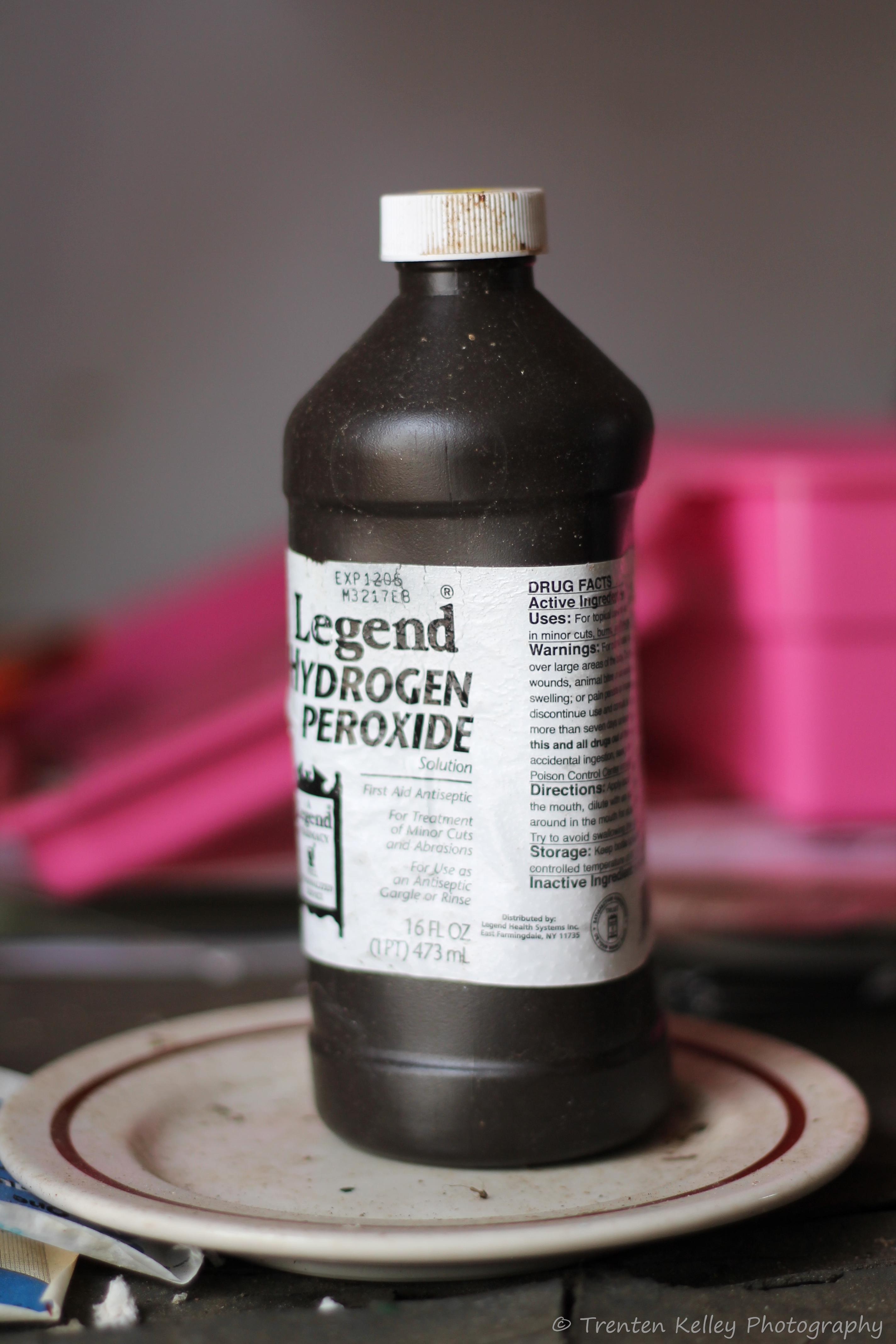 hyrogen peroxide