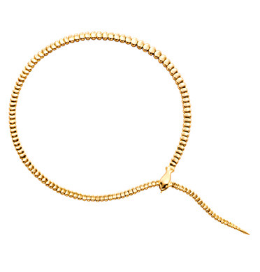 Tiffany & Co., the premier jeweler, celebrates the Year of the Snake with Elsa Peretti's daring and provocative snake necklace.