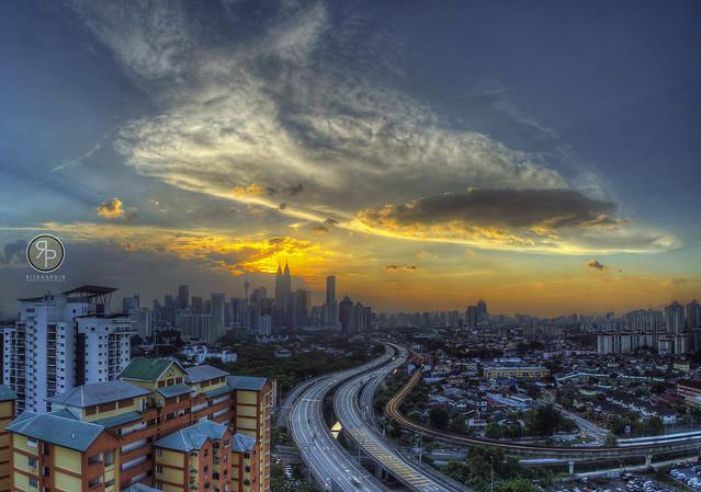 Golden Hours in Kuala Lumpur, Malaysia