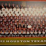 2012 Official Houston Texans Team Photo
