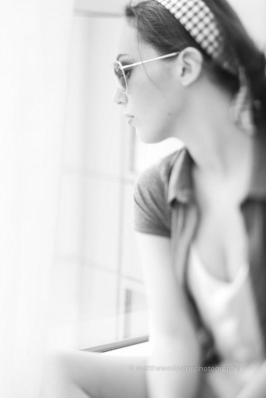 Katie Candid - Lensbaby Edge 80