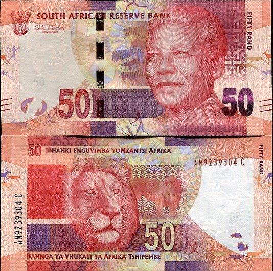 50 Randov Južná Afrika 2012, Mandela