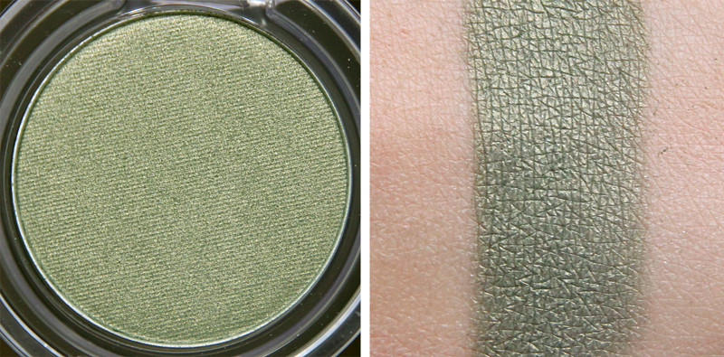 TBS sweet pea colour crush eyeshadow swatch
