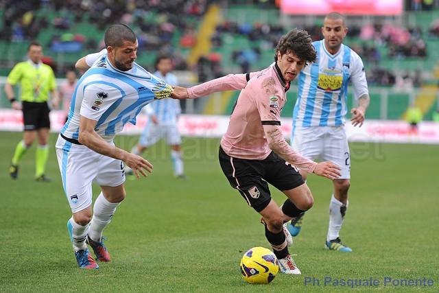 Palermo-Genoa, inutile 0-0 per i rosa$