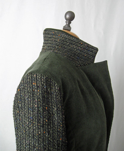 olive cord collar