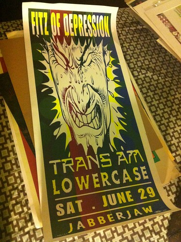 Gig posters