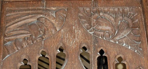 Rood screen detail (1)