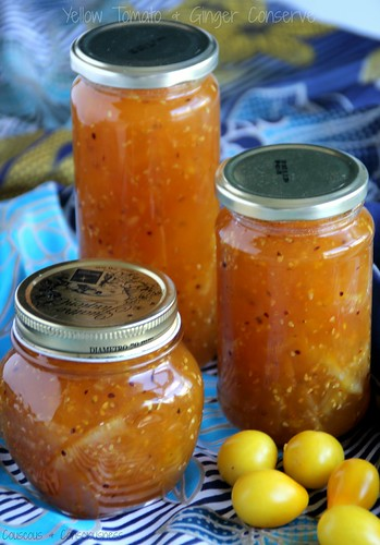 Yellow Tomato & Ginger Conserve
