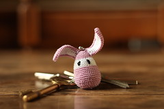 Rabbit keychain