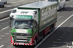 Volvo FH 6x2 Tractor - PX11 BWL - Ann Ballentine - Eddie Stobart - M1 J10 Luton - Steven Gray - IMG_8931