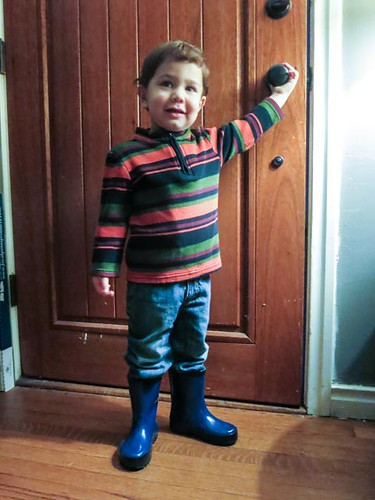 stylin in the rainboots