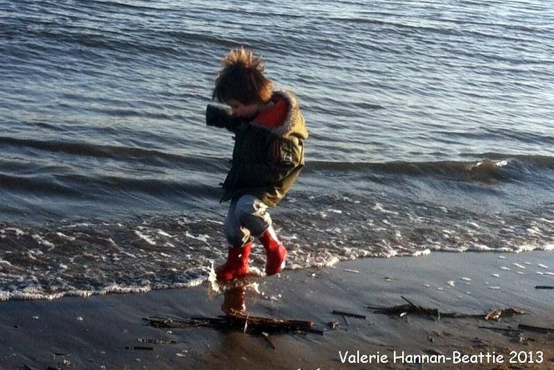 beach shore line tide