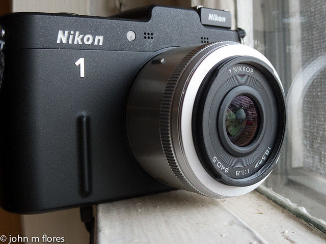 Nikon 1 V1 with 18.5mm f/1.8