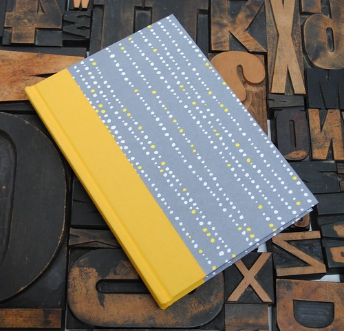 Yellow and Gray Journal