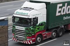 Scania R440 6x2 Tractor - PE11 CSX - Christina Louise - Eddie Stobart - M1 J10 Luton - Steven Gray - IMG_2408