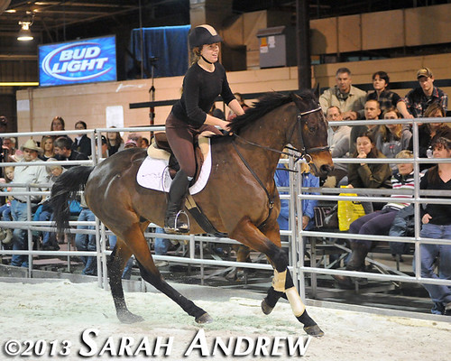 Suave Jazz and Katie Klenk at the Maryland Horse World Expo