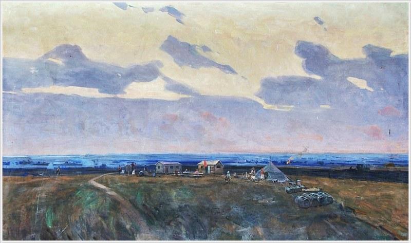 Тюха Иван Андреевич (Россия, 1920 - 2000) «Раннее утро» 1967
