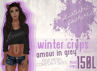 [IF] Winter Crops - Amour [Grey] Ad