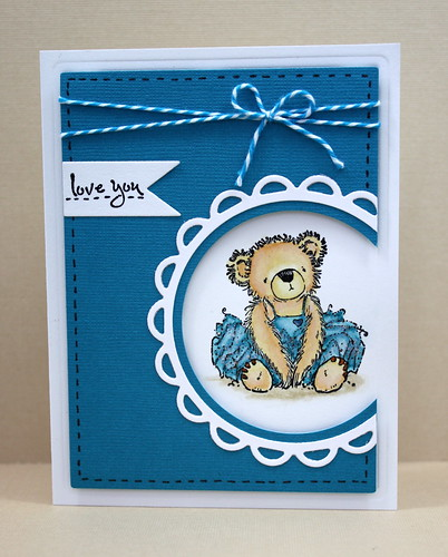 Tutu Bear Note Set Blue