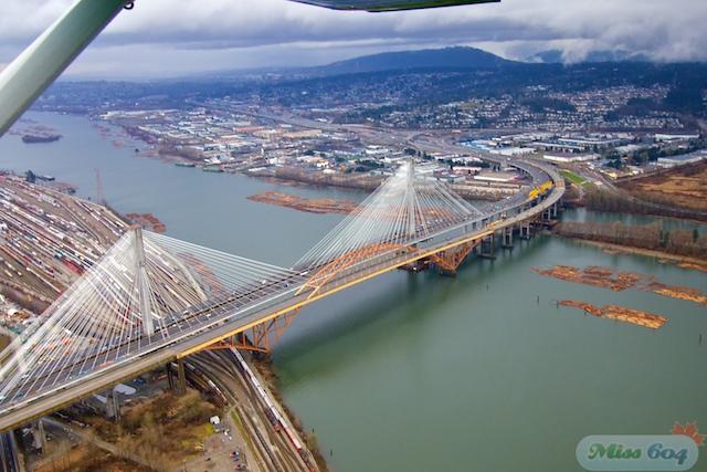 Aerial Photos from News1130 Air Patrol