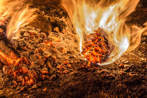 [フリー画像素材] バックグラウンド, 火・炎 ID:201303070400