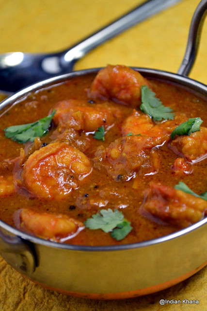 Chettinad Prawn Curry Chettinad Eral Kuzhambu Indian Khana