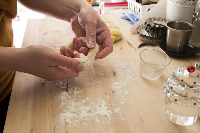 forming bagels