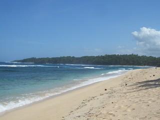 Beach in Siargao Island, Philippines