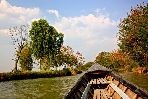 just a calm boat ride