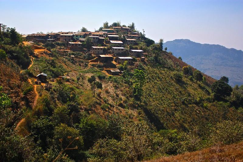a hill village