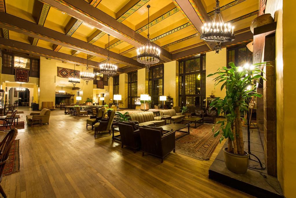 The Overlook Hotel, The Colorado Room (The Ahwahnee Hotel, Yosemite National Park)