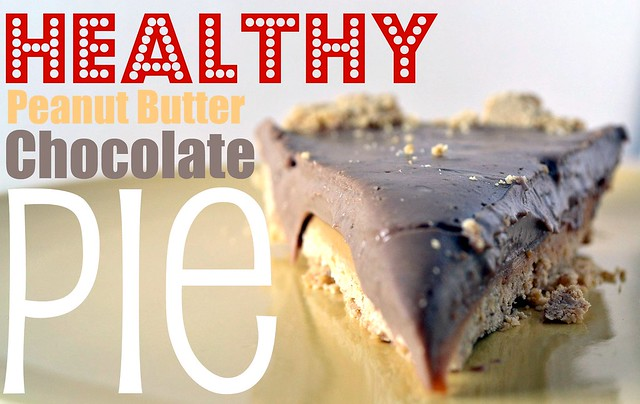 healthy peanut butter chocolate pie
