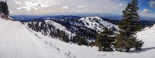 Bogus Basin Panorama
