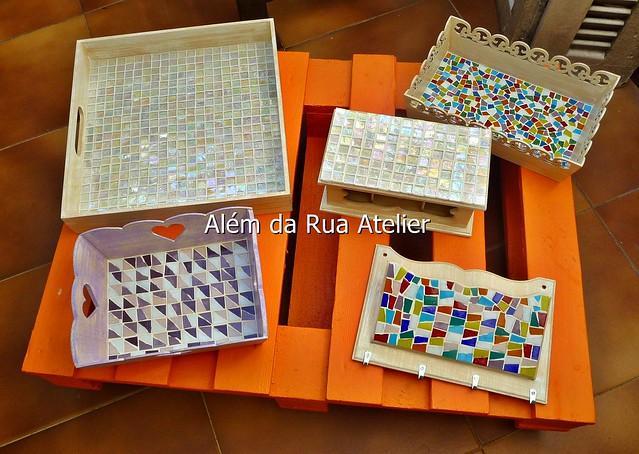 Novas peças em mosaico
