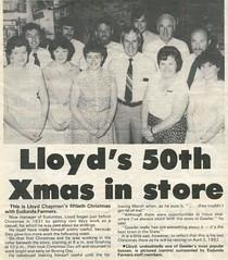Lloyd Chapman 1981 50th year