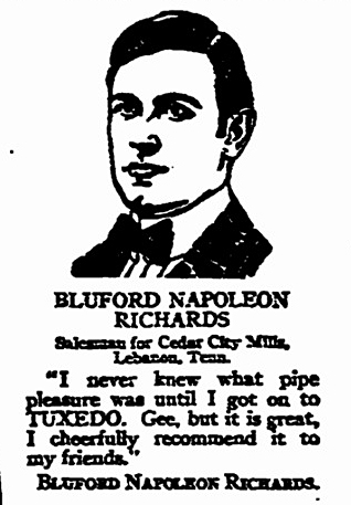 Blufrod Napoleon Richards Fri Aug 14 1916 New Orleans States bluford1