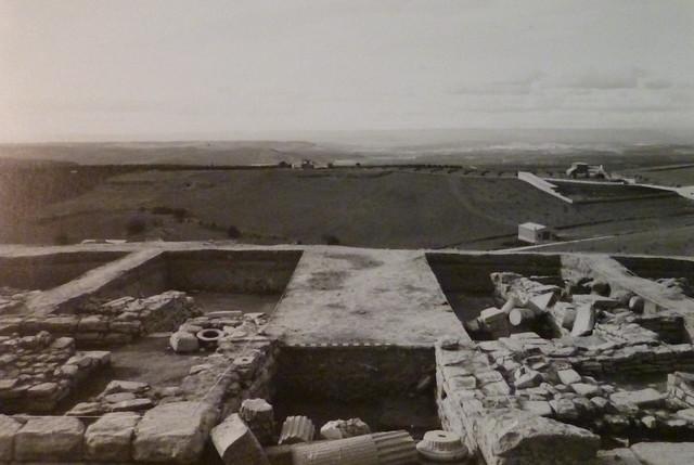 Cruce de calles con San Marcos al fondo. (Obvlco, 1989)