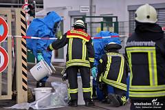 Gefahrstoffaustritt Rheinallee Mainz 10.03.13
